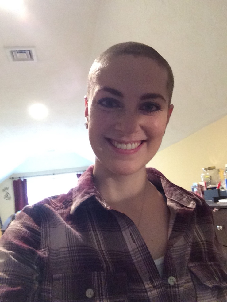 Hair Growth Timeline Post Chemo Breast Cancer Surviving Smiling